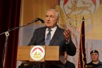 6. Торжественное собрание, посвященное 25-й годовщине образования ОМОН МВД Республики Южная Осетия (часть I)