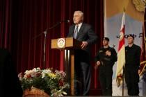 7. Торжественное собрание, посвященное 25-й годовщине образования ОМОН МВД Республики Южная Осетия (часть I)
