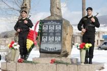 8. Церемония возложения венков и цветов к памятникам сотрудникам ОМОН МВД, погибшим в ходе отражения грузинской агрессии с 1992 по 2008 годы