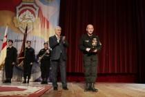 8. Торжественное собрание, посвященное 25-й годовщине образования ОМОН МВД Республики Южная Осетия (часть IV)