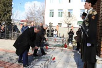 8. Церемония возложения венков и цветов к памятникам защитникам Отечества (часть II)