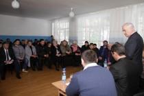 9. Встреча с населением с. Зар Цхинвальского района