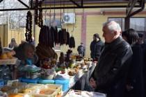 1. Посещение Цхинвальского рынка №2