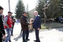 1. Рабочая поездка в Знаурский район (часть II)