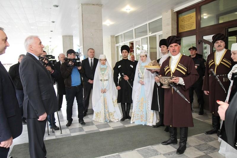 Встреча с жителями с. Октябрьское Республики Северная Осетия-Алания (часть I)