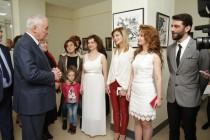 1. Открытие выставки работ сирийских художников