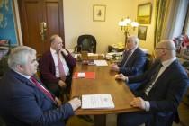 2. Встреча с Председателем Центрального Комитета Коммунистической партии Российской Федерации Геннадием Зюгановым