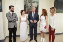 2. Открытие выставки работ сирийских художников