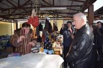3. Посещение Цхинвальского рынка №2