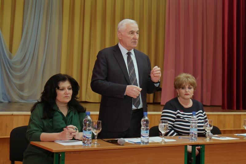 Встреча с коллективом Цхинвальской школы №1