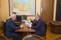 3. Встреча с заместителем Председателя Государственной думы Российской Федерации Сергеем Неверовым