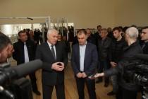 4. Церемония открытия спортивного зала на ул. Героев в г. Цхинвал