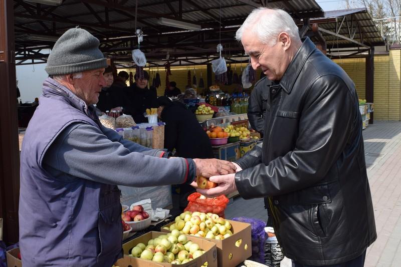 Посещение Цхинвальского рынка №2