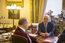 4. Встреча с Председателем Центрального Комитета Коммунистической партии Российской Федерации Геннадием Зюгановым