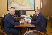 4. Встреча с заместителем Председателя Государственной думы Российской Федерации Сергеем Неверовым