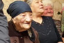 5. Поздравление с Международным женским днем долгожительниц Цхинвала
