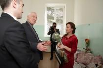 6. Поздравление с Международным женским днем рожениц и персонал Цхинвальского родильного дома