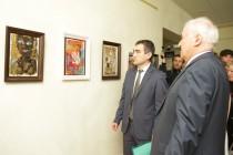 6. Открытие выставки работ сирийских художников