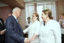 7. Встреча с коллективом Республиканской соматической больницы