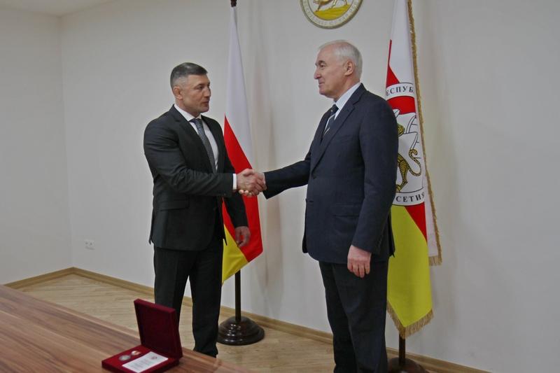 Встреча с Руководителем Администрации Главы Республики Северная Осетия-Алания Рустемом Келехсаевым