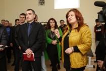 9. Церемония открытия спортивного зала на ул. Героев в г. Цхинвал