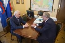 9. Встреча с заместителем Председателя Государственной думы Российской Федерации Сергеем Неверовым