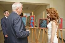 9. Открытие выставки работ сирийских художников