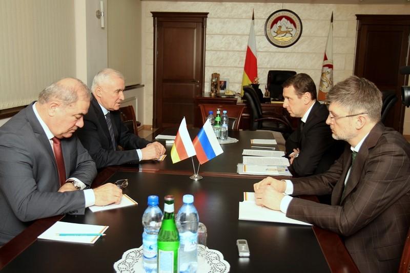 Встреча c начальником Управления Президента Российской Федерации Олегом Говоруном