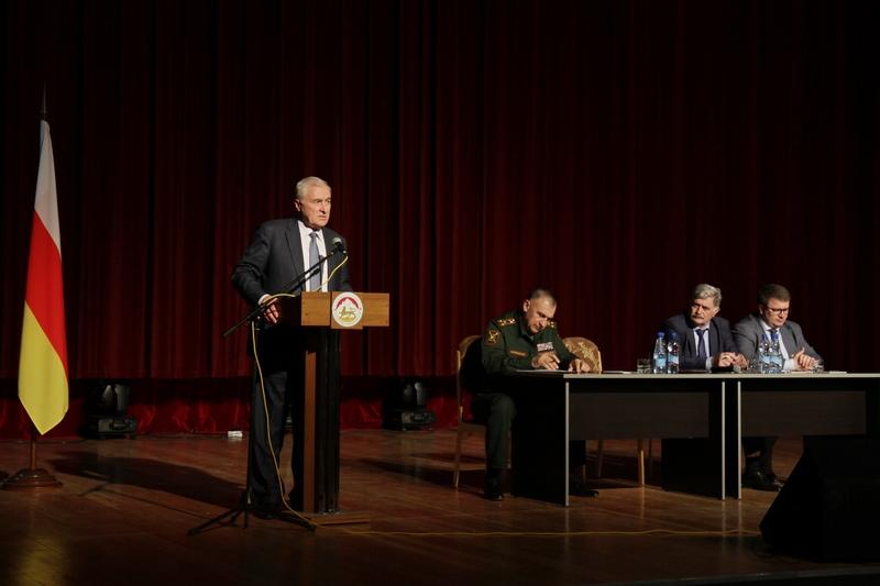 Леонид Тибилов: «Создание единого контура обороны обеспечит безопасность нашей страны»