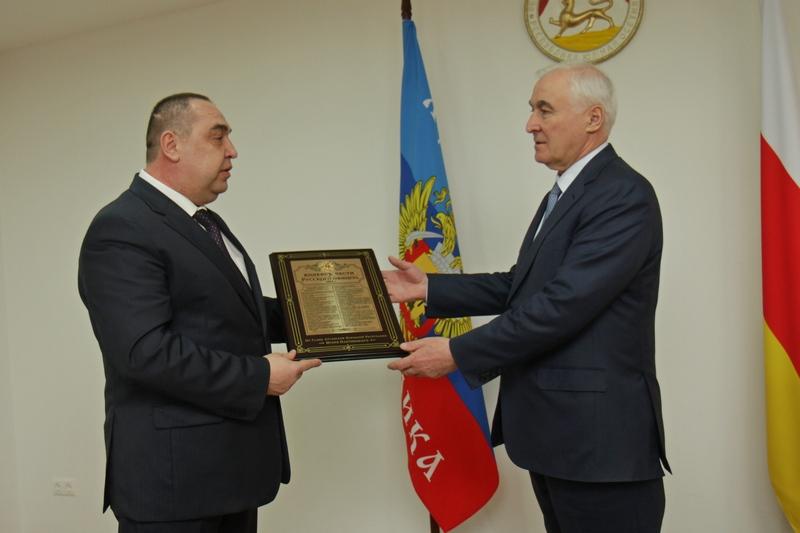 Встреча с Главой Луганской Народной Республики Игорем Плотницким