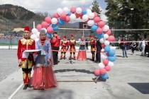 1. Церемония открытия спортивной площадки в райцентре Дзау (часть I)