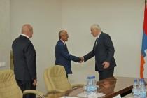 1. Встреча с делегацией Республики Арцах