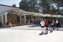 2. Открытие летней сцены Дворца детского творчества