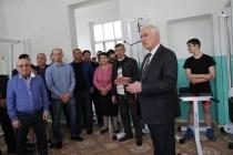 2. Церемония открытия спортивного зала в селе Хвце Дзауского района