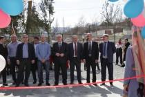 2. Церемония открытия спортивной площадки в райцентре Дзау (часть I)
