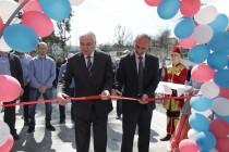 3. Церемония открытия спортивной площадки в райцентре Дзау (часть I)