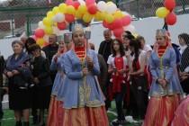 3. Церемония открытия спортивной площадки в райцентре Дзау (часть II)