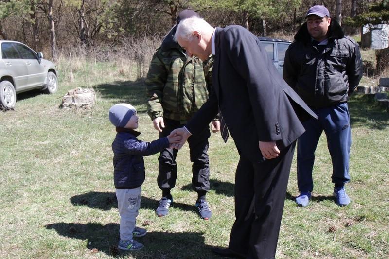 Встреча с жителями Знаурского района