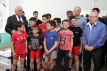 4. Церемония открытия спортивного зала в селе Хвце Дзауского района