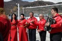 4. Церемония открытия спортивной площадки в райцентре Дзау (часть I)