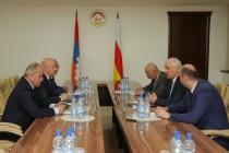 4. Встреча с делегацией Республики Арцах