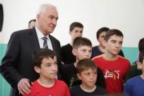 5. Церемония открытия спортивного зала в селе Хвце Дзауского района