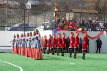 5. Церемония открытия спортивной площадки в райцентре Дзау (часть II)