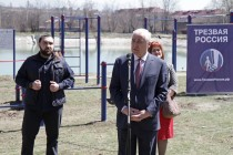 6. Открытие спортивной площадки WorkOut на берегу Цхинвальского озера