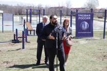 7. Открытие спортивной площадки WorkOut на берегу Цхинвальского озера