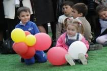 7. Церемония открытия спортивной площадки в райцентре Дзау (часть II)