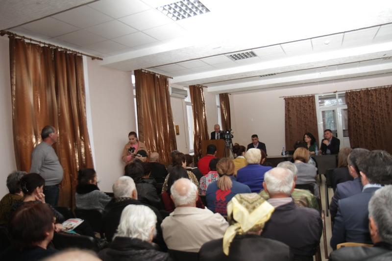 Встреча с жителями столичного микрорайона «Шанхай»