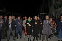 8. Встреча с жителями ул. Целинников г. Цхинвал
