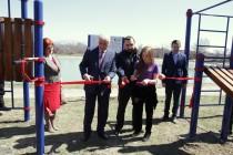 8. Открытие спортивной площадки WorkOut на берегу Цхинвальского озера