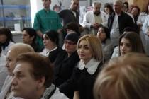 8. Встреча с коллективом Цхинвальской городской поликлиники